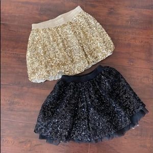 Sequin Skirts Like New